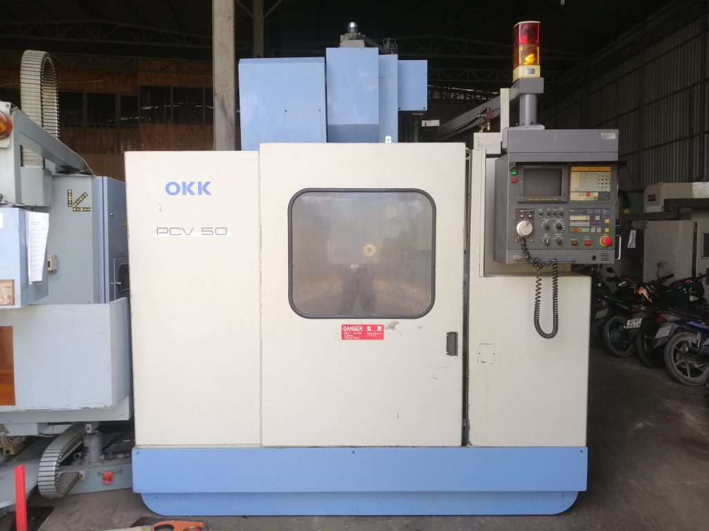 Máy phay hiệu OKK PCV 50